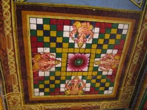 Plafond d'un temple