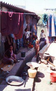 Rue du slum