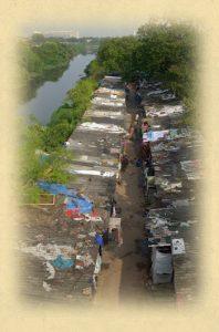Slum de Gandhi Nagar