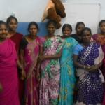 Govindammal Govindan with her  friends 2014-1